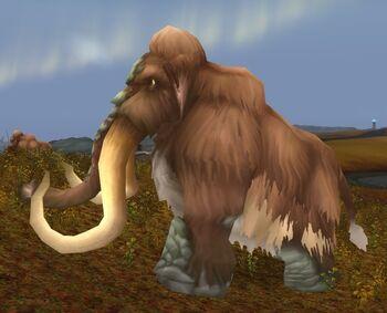 Wooly Mammoth Bull