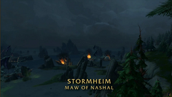 BlizzCon Legion - Stormheim Maw of Nashal