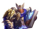 Epic paladin warrior