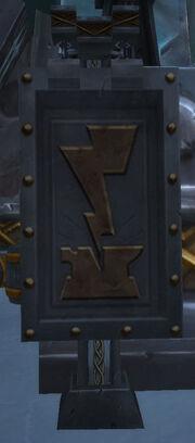 Iron dwarf banner
