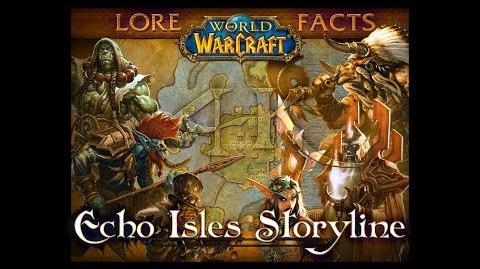 Echo Isles Storyline with Pop-up Lore Facts in World of Warcraft 4K