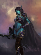 Sylvanas Banshee queen