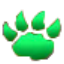 Pet battle green paw 64x64