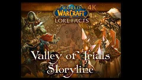 Valley of Trials Storyline with Pop-up Lore Facts in World of Warcraft 4K