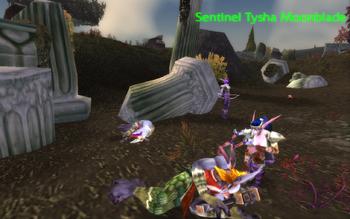 Sentinel Tysha Moonblade
