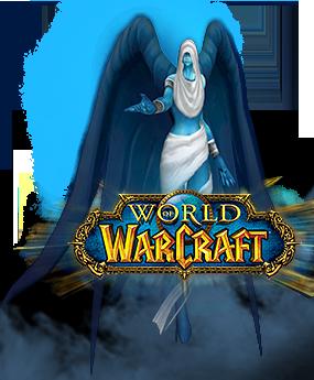 Spirit healer WoW logo