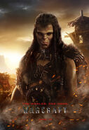 Warcraft movie poster - Draka