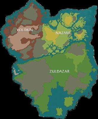 Zandalar prelim map BlizzCon2017-cleaned