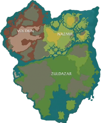 Zandalar prelim map BlizzCon2017-cleaned