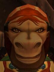 Flimsy Female Tauren Mask