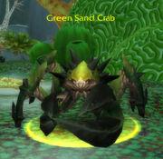 Green Sand Crab