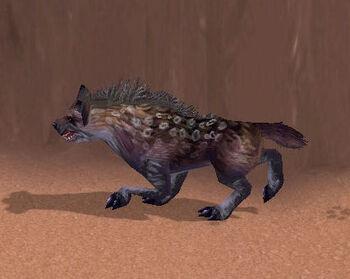 Mangy Hyena