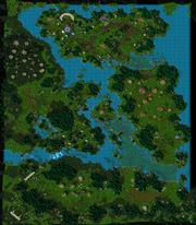 The Awakening of Stormrage Map