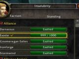 Exalted with Exodar Club