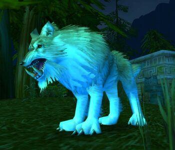 Silvermane Wolf