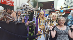 Warcraft movie premiere-Donna Dickens for HitFix-cosplayers