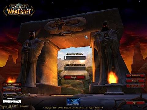 world of warcraft 0 fps