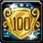 Achievement level 100