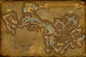 Wailing caverns wowwiki fandom powered by wikia worldmap wailingcaverns1 publicscrutiny