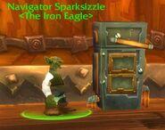Navigator Sparksizzle drinking