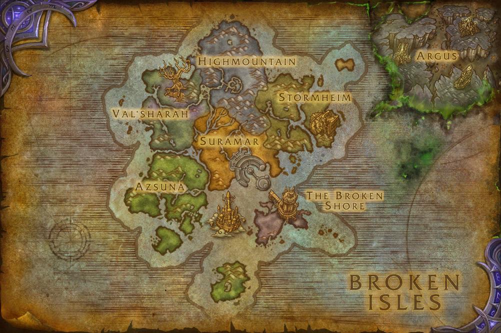 Broken Isles | WoWWiki | FANDOM powered by Wikia