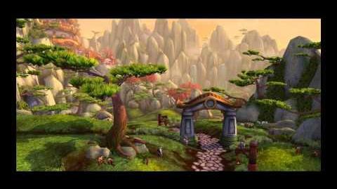 World of Warcraft Mists of Pandaria, Pandaren Intro
