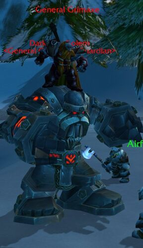 Dark Iron Golem