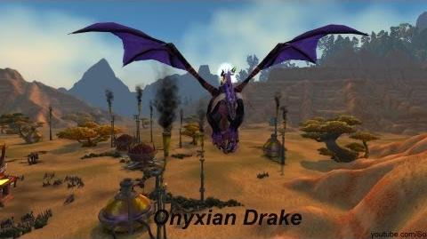 Mount Onyxian Drake - World of Warcraft