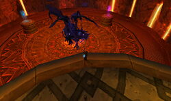 Undead Onyxia waiting