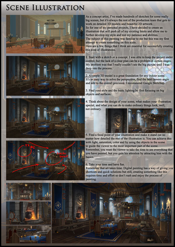 Scene illustraation tutorial by anthonyavon-da0kh62