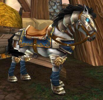 Stabled Westguard Horse