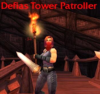 Defias Tower Patroller