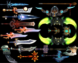 Notable weapons