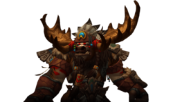 Highmountain Tauren allied race