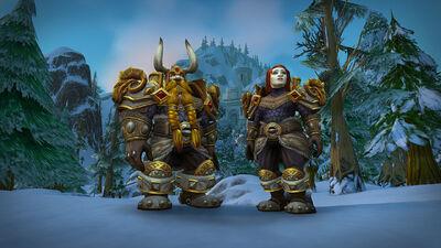 Heritage Armor - Dwarves - World of Warcraft