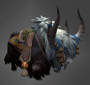 Yak mount black