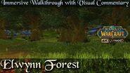 Elwynn Forest Storyline n' Trivia Walkthrough World of Warcraft 4K