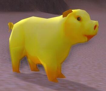 Image of Golden Pig