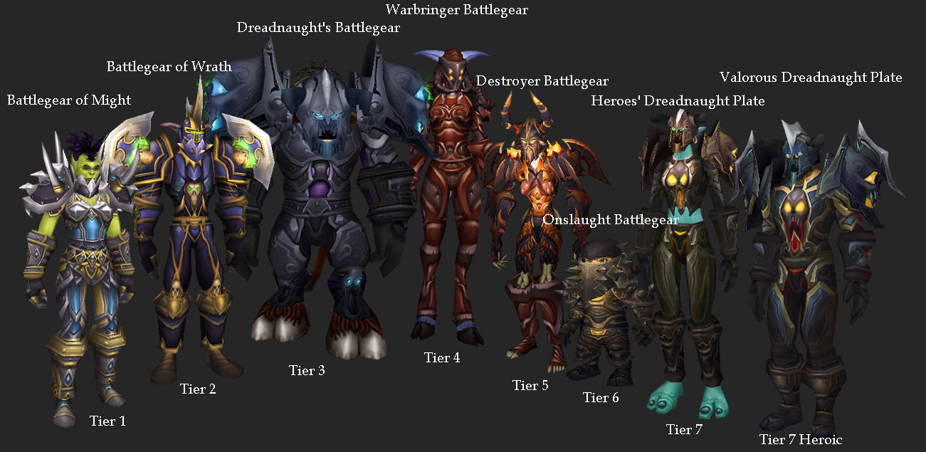 Image - Warrior Tier Sets.jpg | WoWWiki | FANDOM powered by Wikia
