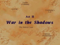 Warcraft II Beyond the Dark Portal - Act III (War in the Shadows)