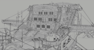 Legion cinematic Varian and the gunship scene 14