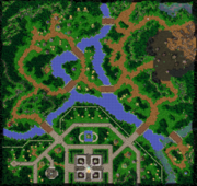 The Fall of Silvermoon Map