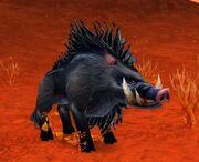 Dire Mottled Boar