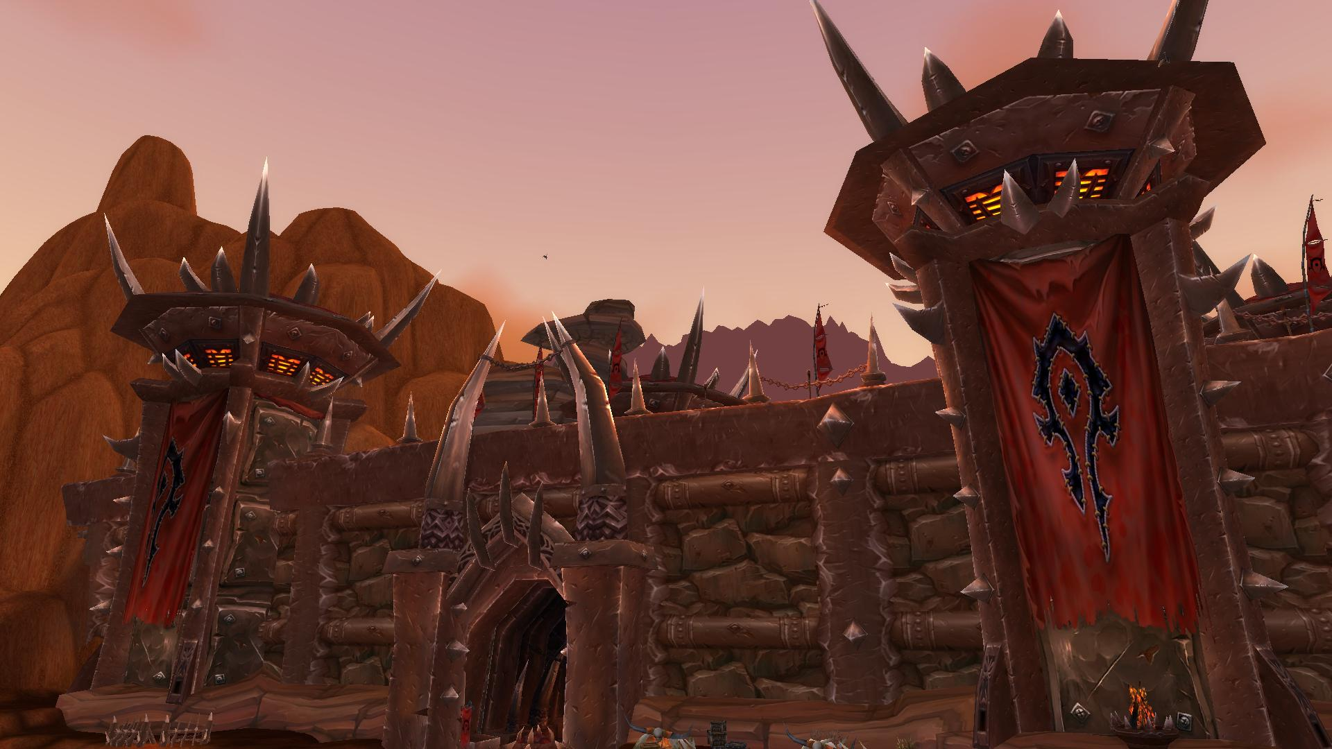 world of warcraft orc buildings