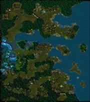 Rise of the Naga Map