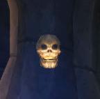 Ghostly Skull