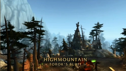 BlizzCon Legion High Mountain Torok's Bluff