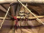 Orc tent draenei skulls