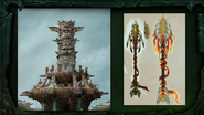 BlizzCon Legion High Mountain Tauren housing concept art 2