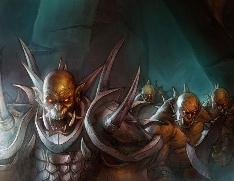 Resultado de imagen para fel orc art